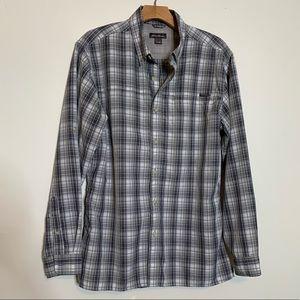 Eddie Bauer Long Sleeve Button Down Shirt Sz M